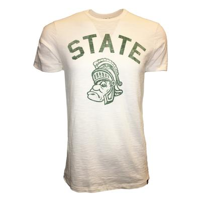 Michigan State 47' State Arch Scrum Tee
