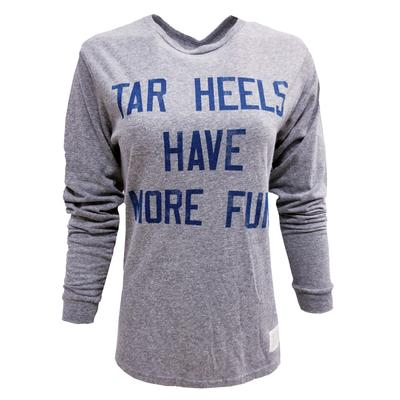 UNC Retro Brand Women's Long Sleeve Have More Fun Tee