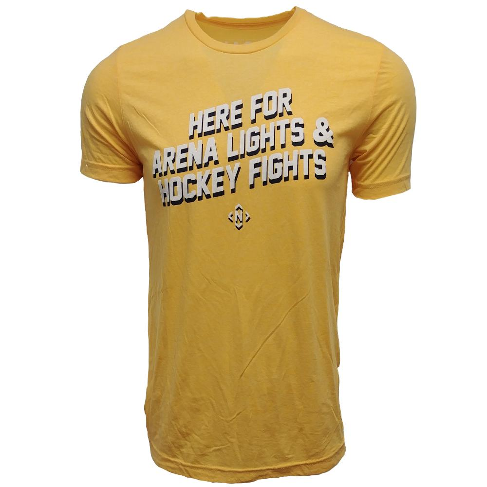 The Nash Collection Here For Arena Lights And Hockey Fights T Shirt