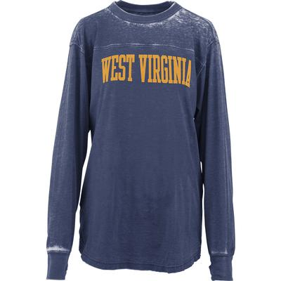 West Virginia Pressbox Women's Piston Vintage Wash Campus Tee