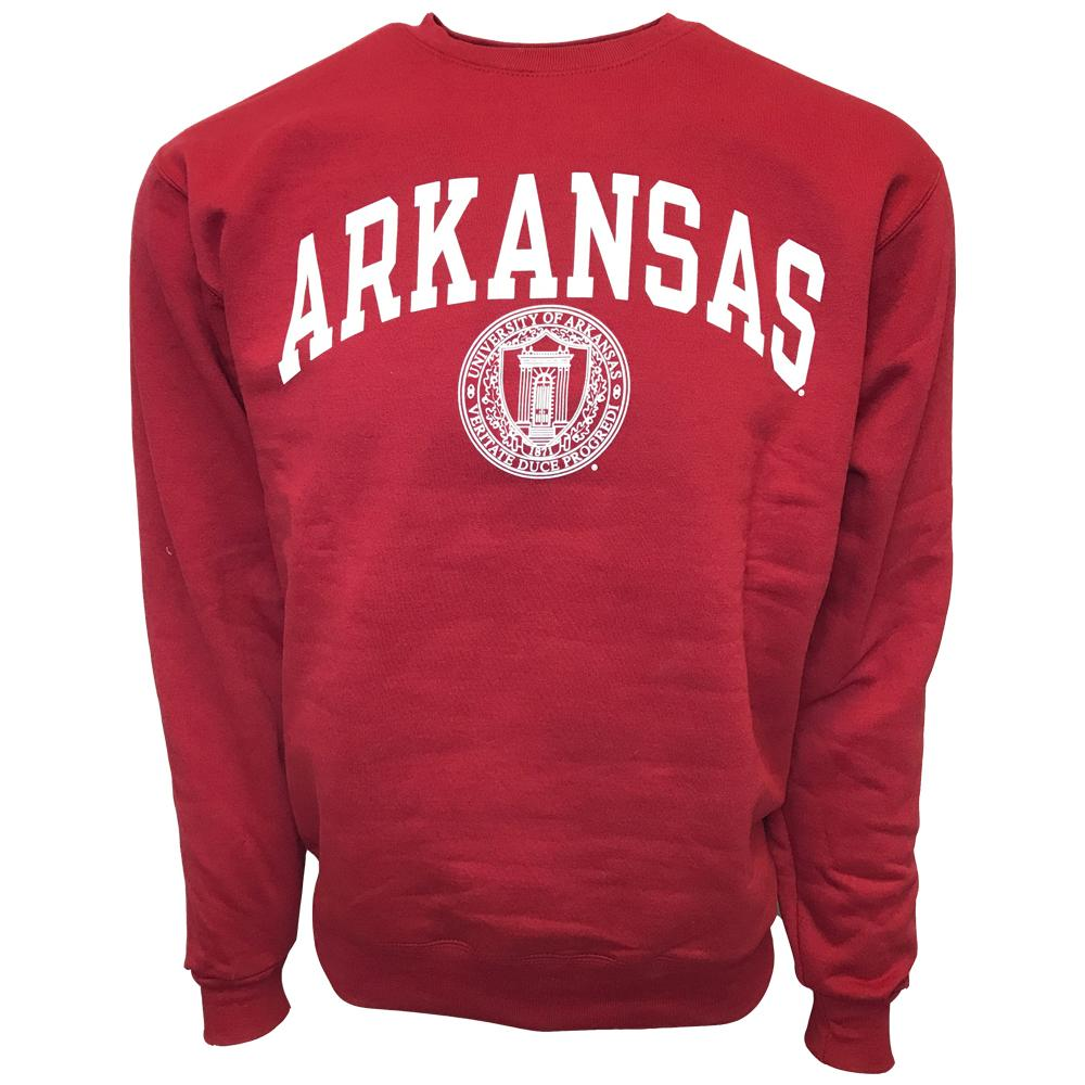 Arkansas College Seal Crew Sweatshirt