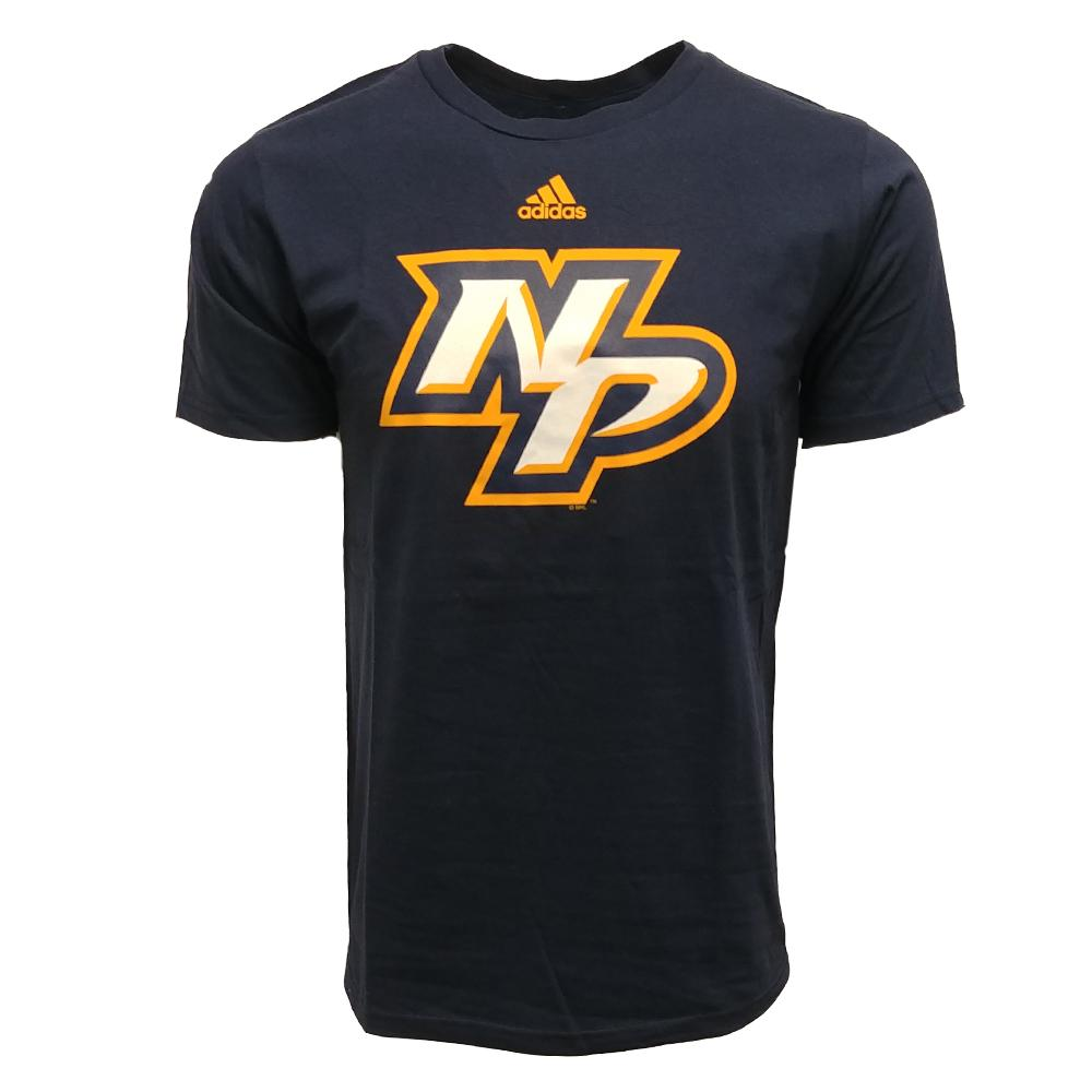 Adidas Men's Nashville Predators Logo T Shirt