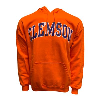 Clemson Arch Logo Hooded Sweatshirt