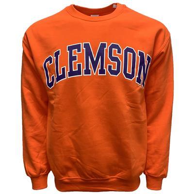 Clemson Arch Logo Crew Sweatshirt