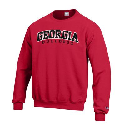Georgia Champion Eco Power Blend Crew Neck Pullover