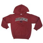 Arkansas Champion Youth Hooded Sweatshirt