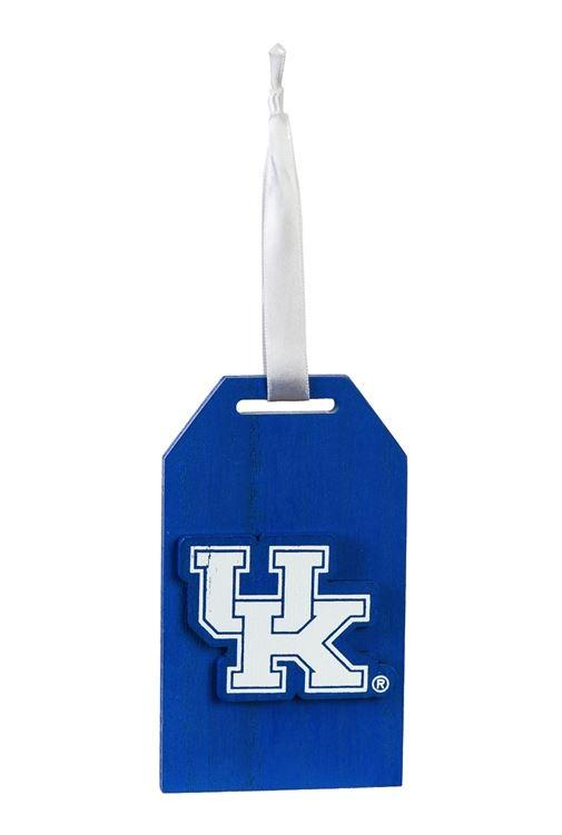 Kentucky Wildcats Gift Tag Ornament