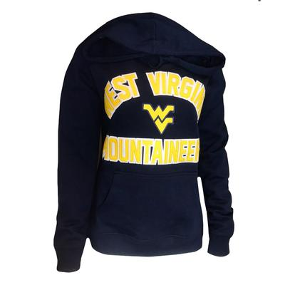 West Virginia Women's Cheer Hooded Sweatshirt