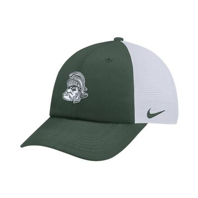 Michigan State Nike Heritage86 Vault Logo Adjustable Trucker Hat