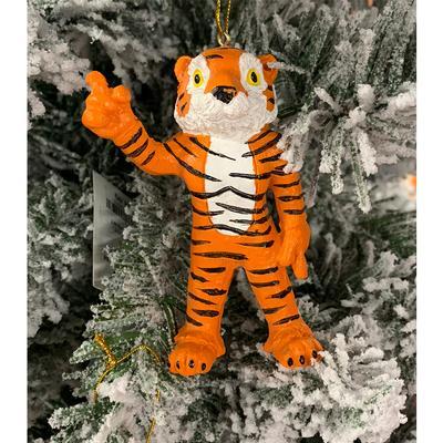 Clemson Tigers Standing Mascot Ornament