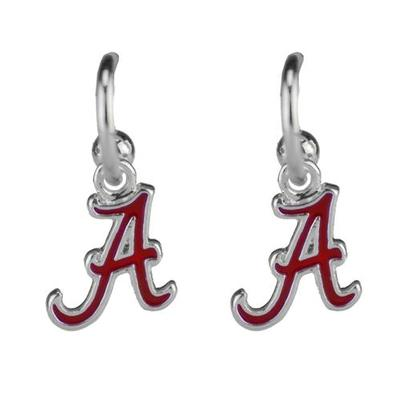 Alabama Enamel Dangle Earrings