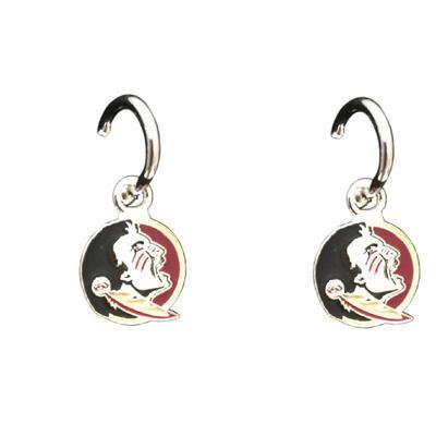 Florida State Enamel Dangle Earrings