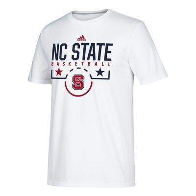NC State Adidas Salute to Service Basketball Tee