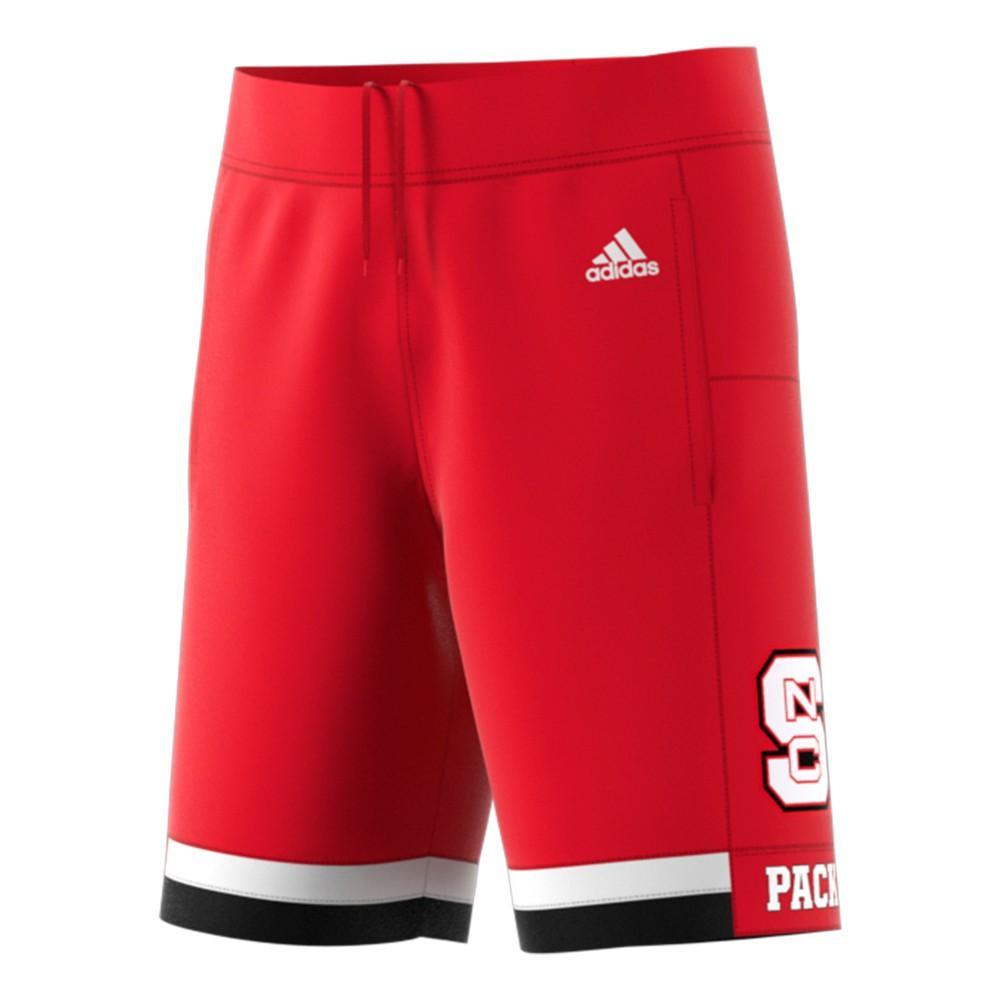 Nc State Adidas Replica Basketball Shorts