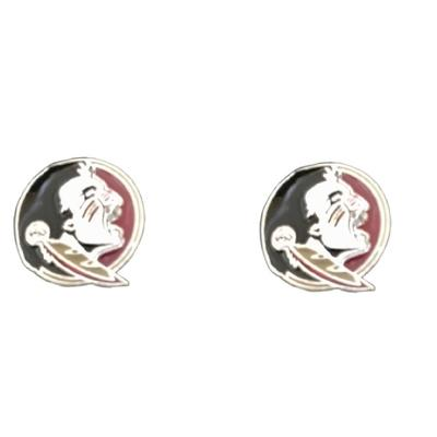 Florida State Enamel Stud Earrings