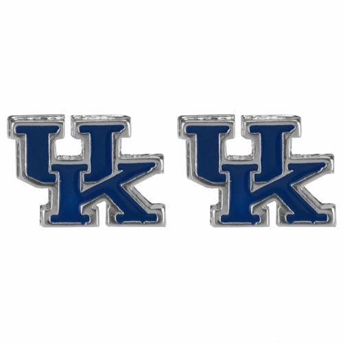 Kentucky Enamel Stud Earrings