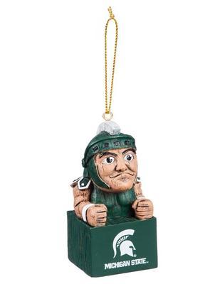 Michigan State Team Mascot Tiki Ornament