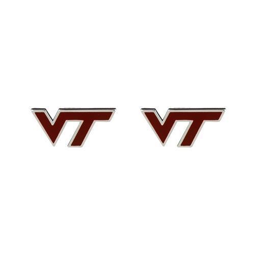 Virginia Tech Enamel Stud Earrings