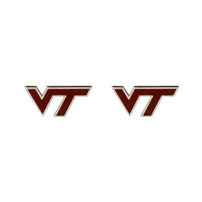 Virginia Tech Enamel Stud Earrings