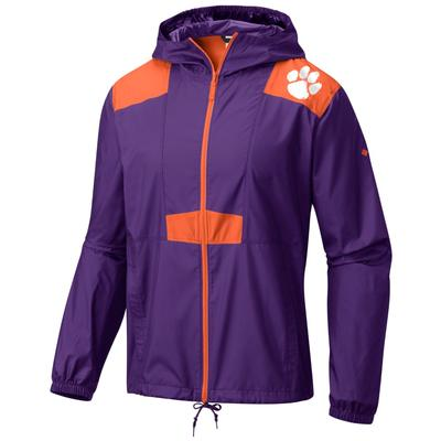 Clemson Columbia Flashback Windbreaker
