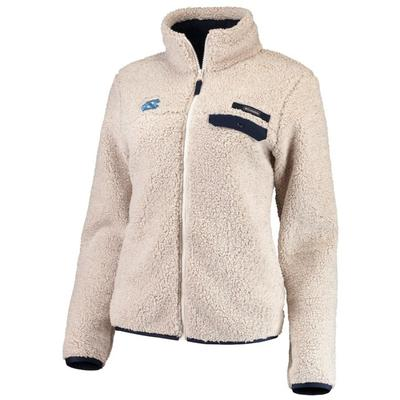 UNC Columbia Women's Mountain Side Fleece Jacket