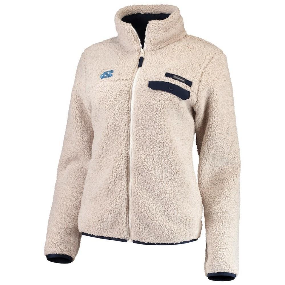 5c69511fb Tar Heels   UNC Columbia Women's Mountain Side Fleece Jacket ...