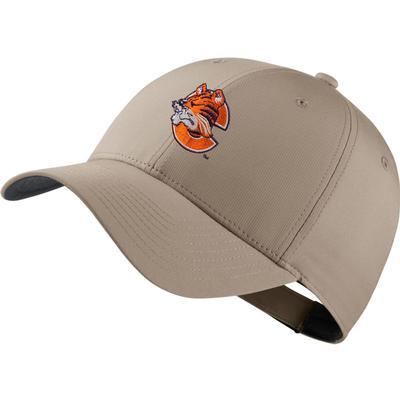 Clemson Nike Golf Dri-Fit Retro Logo Tech Cap