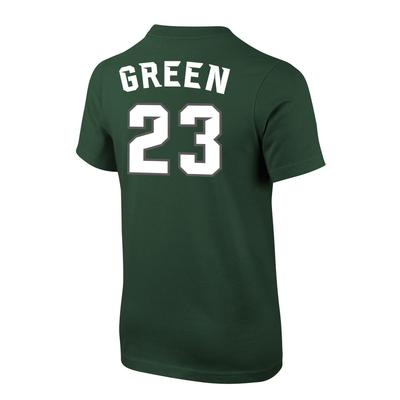 Michigan State Nike Youth Green Future Stars Tee