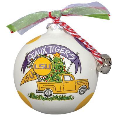 LSU Tigers Truck Ornament