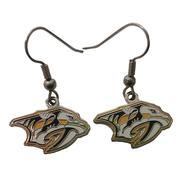 Nashville Predators Dangle Earrings