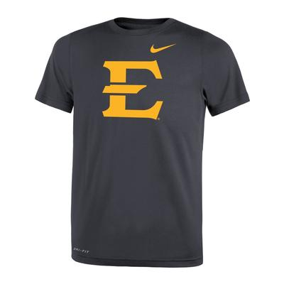 ETSU Nike Youth Dri-Fit Legend 2.0 Tee ANTHRACITE
