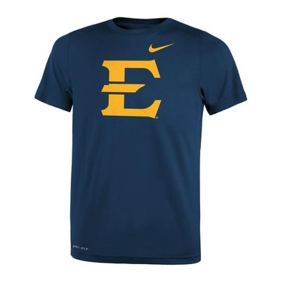 ETSU Nike Youth Dri-Fit Legend 2.0 Tee NAVY
