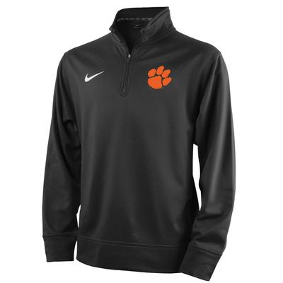 Clemson Nike Youth Therma 1/4 Zip Pullover