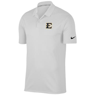 ETSU Nike Golf Victory Solid Polo WHT