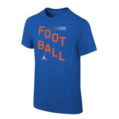Florida Jordan Brand Youth Core Cotton Football Tee