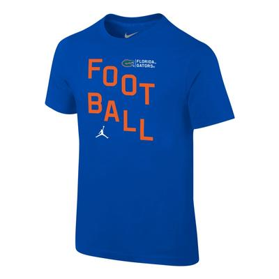 Florida Jordan Brand Boys Core Cotton Football Tee
