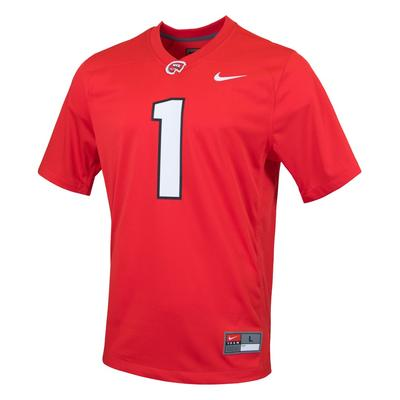 Western Kentucky Nike Replica Football Jersey #1