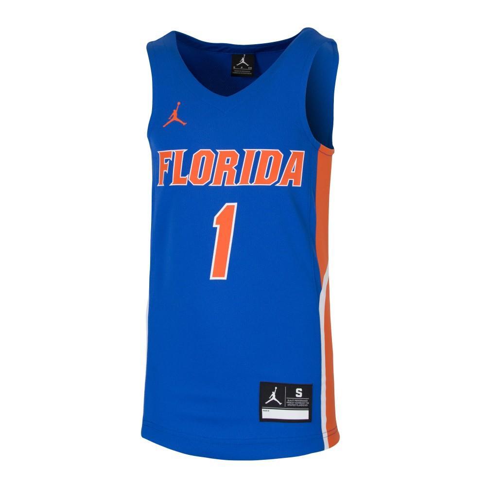 Florida Jordan Brand Youth Basketball Jersey # 1