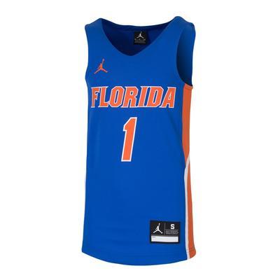 Florida Jordan Brand Youth Basketball Jersey #1