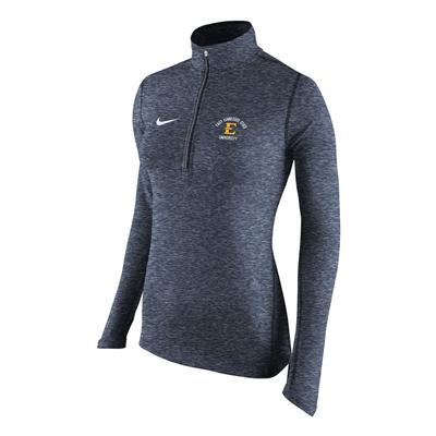 ETSU Nike Women's Heather Element 1/2 Zip Pullover