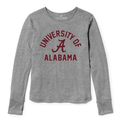 Alabama League Women's Unwind Dreamer Long Sleeve Tee