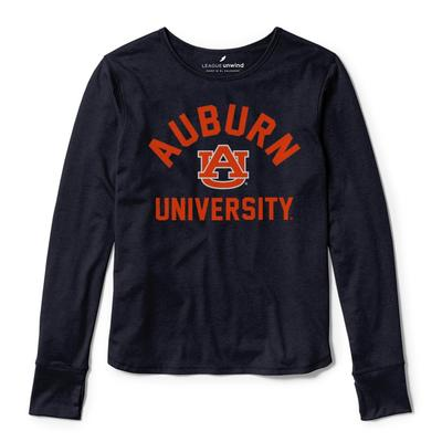 Auburn League Women's Unwind Dreamer Long Sleeve Tee