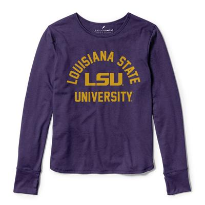 LSU League Women's Unwind Dreamer Long Sleeve Tee