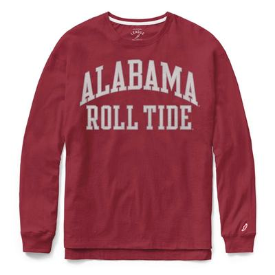 Alabama League Women's Clothesline Long Sleeve Top