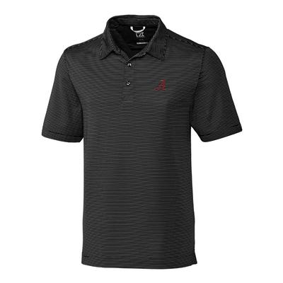 Alabama Cutter & Buck Big and Tall Prevail Stripe Polo