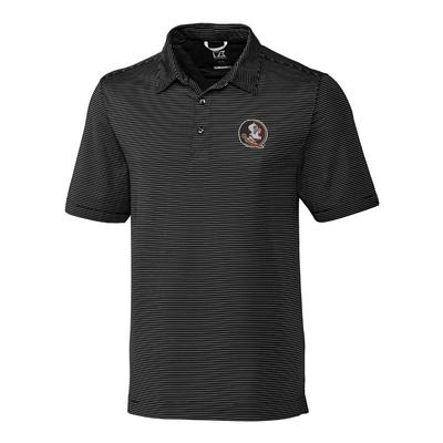 Florida State Cutter & Buck Big and Tall Prevail Stripe Polo
