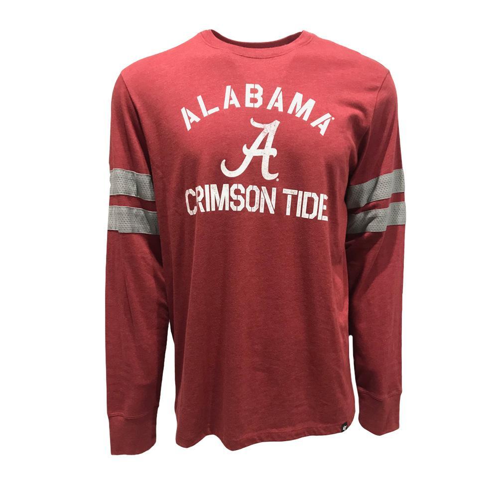 Alabama 47 ' Long Sleeve Club Scramble Tee