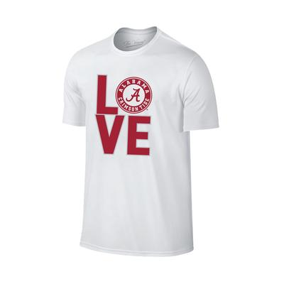 Alabama Women's Love Cotton Tee