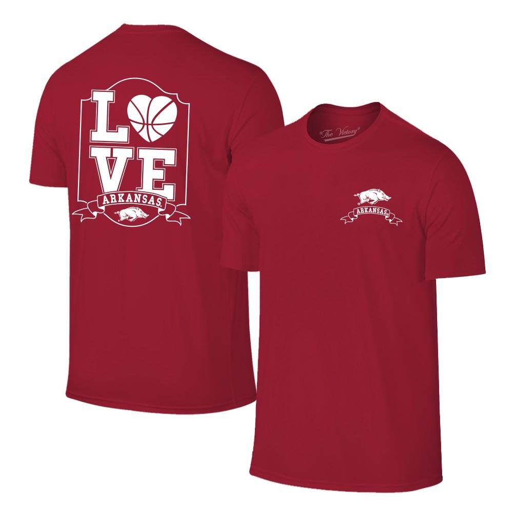 Arkansas Women's Love Basketball T- Shirt