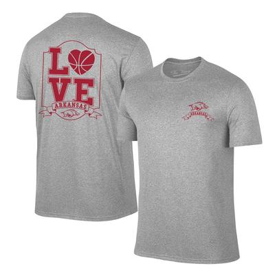 Arkansas Women's Love Basketball T-shirt OXFORD